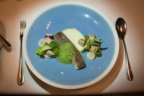 Bistro Margaux, Brussels: Eel With Parsley Sauce, Revisited