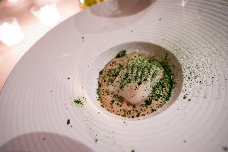 La Pergola, Rome - Black cod sous-vide