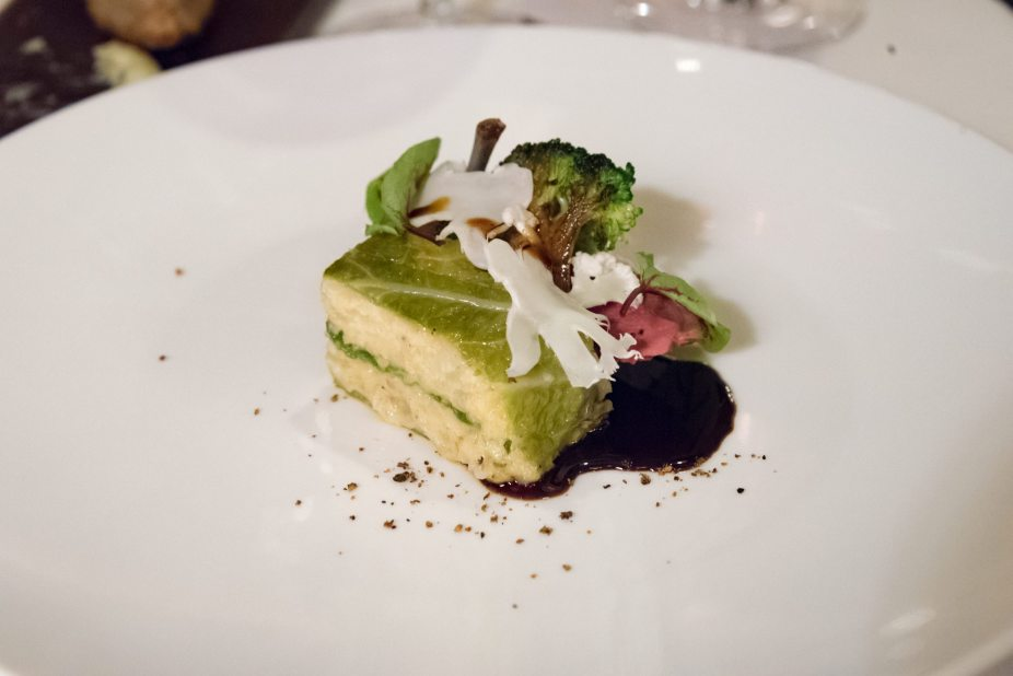 Le Restaurant de l'Hôtel, Paris – Cabbage cake, pigeon breast