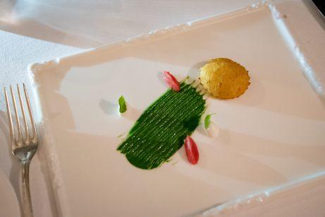 Assaje Restaurant in Rome - Cheese croquette