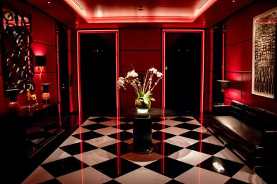 L'Atelier Robuchon in Montreal - The entrance and elevators
