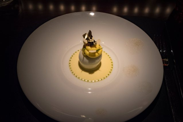 L'Atelier Robuchon in Montreal - The deviled egg