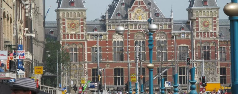 The History of Amsterdam: Amsterdam Central Station