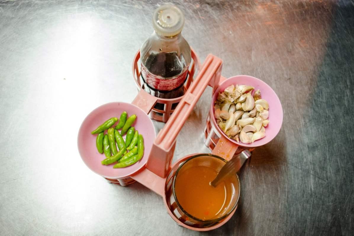 Bangkok Travel Blog - The Ubiquitous Condiments where to stay in Bangkok