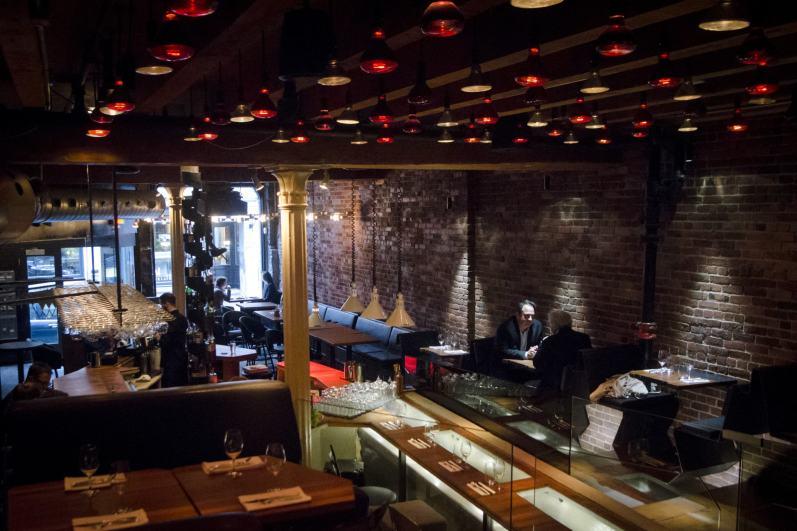 Restaurant Vieux-Montréal: Mangiafoco - La salle à manger