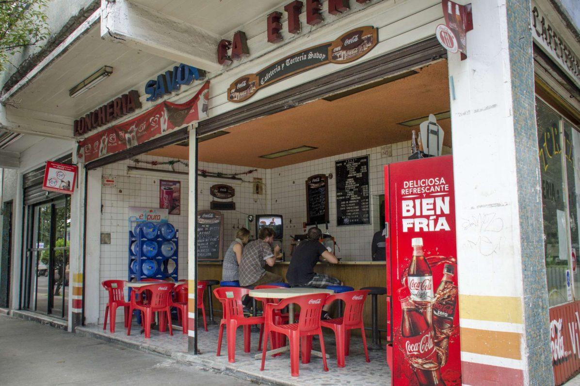 Visiter Mexico: Coyoacán – On y trouve aussi de vieilles cafétérias typiques de Mexico