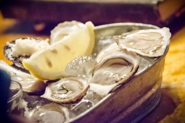 Des huîtres