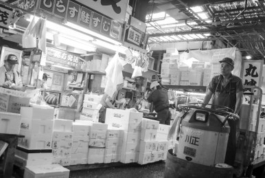 Tokyo Attraction: Tsukiji Market