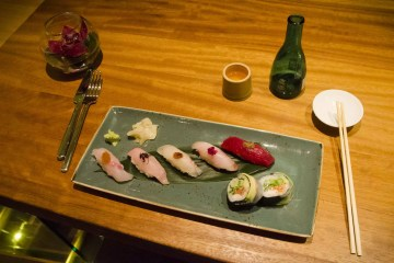 Montreal restaurants : Sushis @ shinji