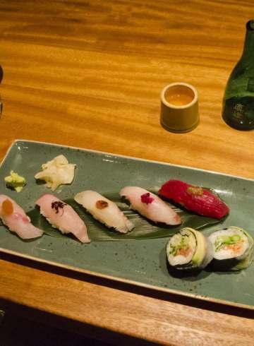 Montreal restaurants : Sushis @ shinji