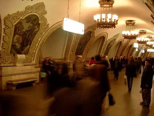 Most Beautiful Subway - Moscow