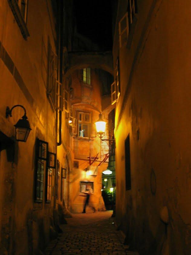 – Un des coins les plus anciens de la ville, près de la Kirche Am Hof, à Vienne