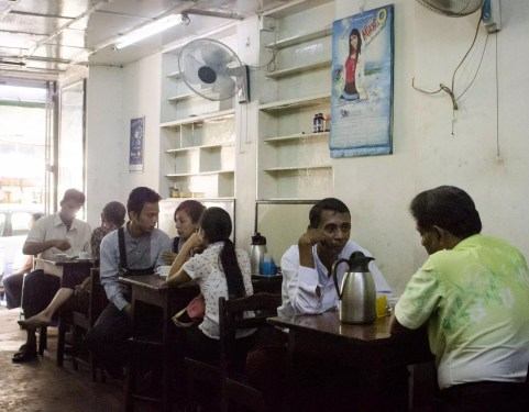 Burma Travel: Tea parlour