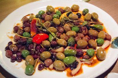 Olives rôties