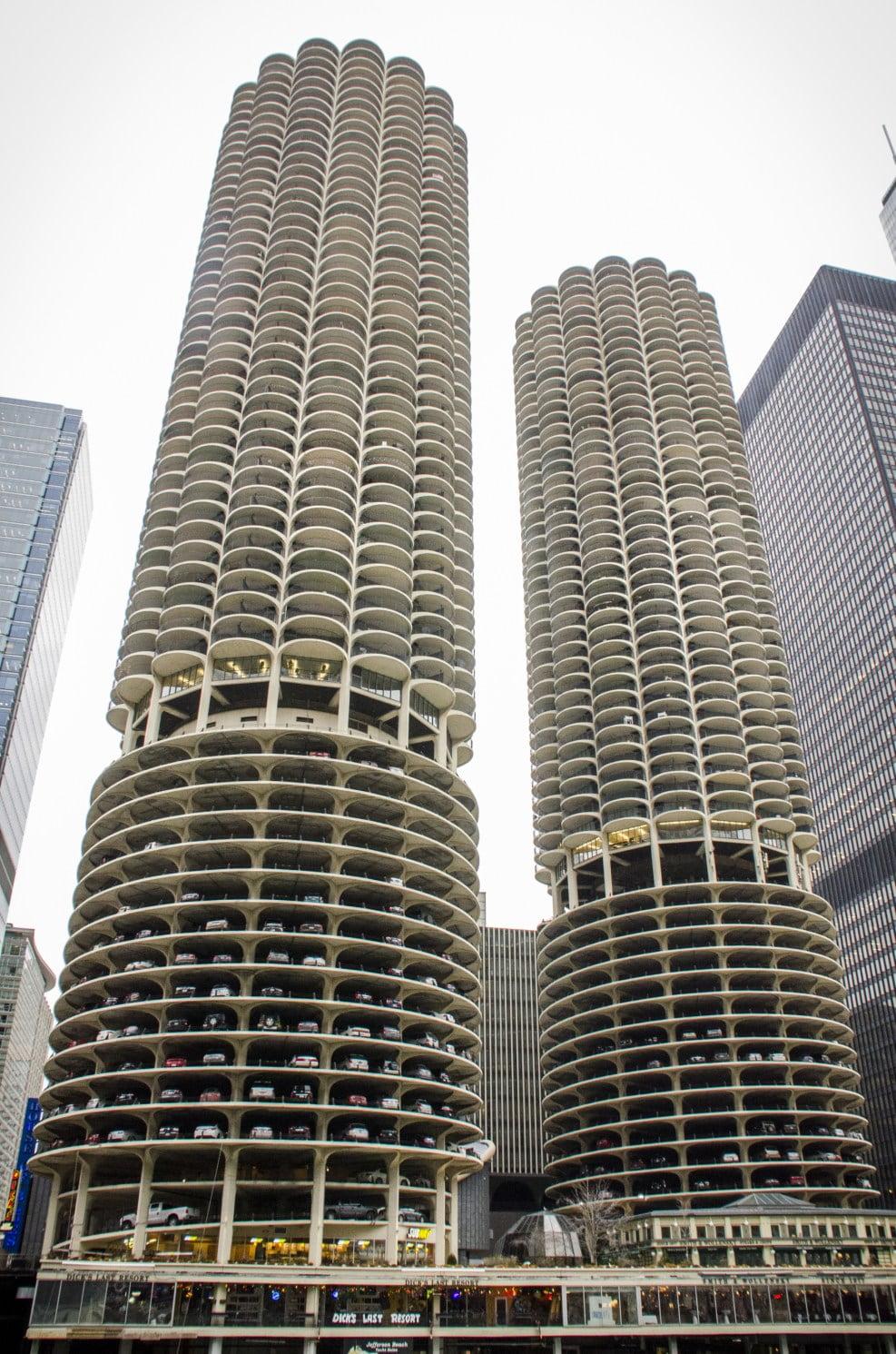 Visiter Chicago: Marina City