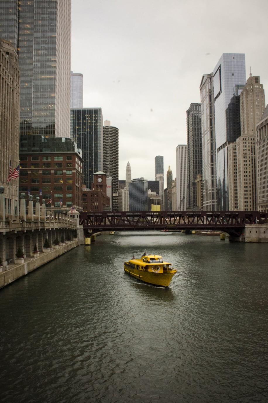 Visiter Chicago - La rivière