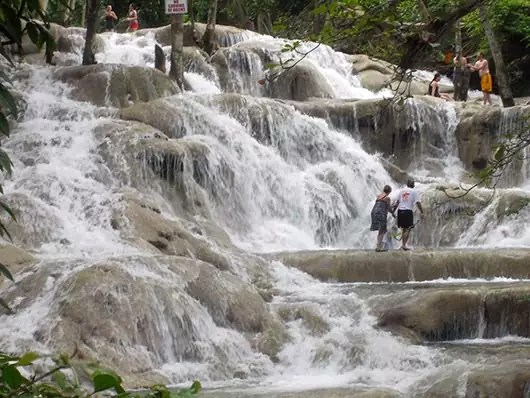 Resort in Negril Jamaica - The falls are beautiful