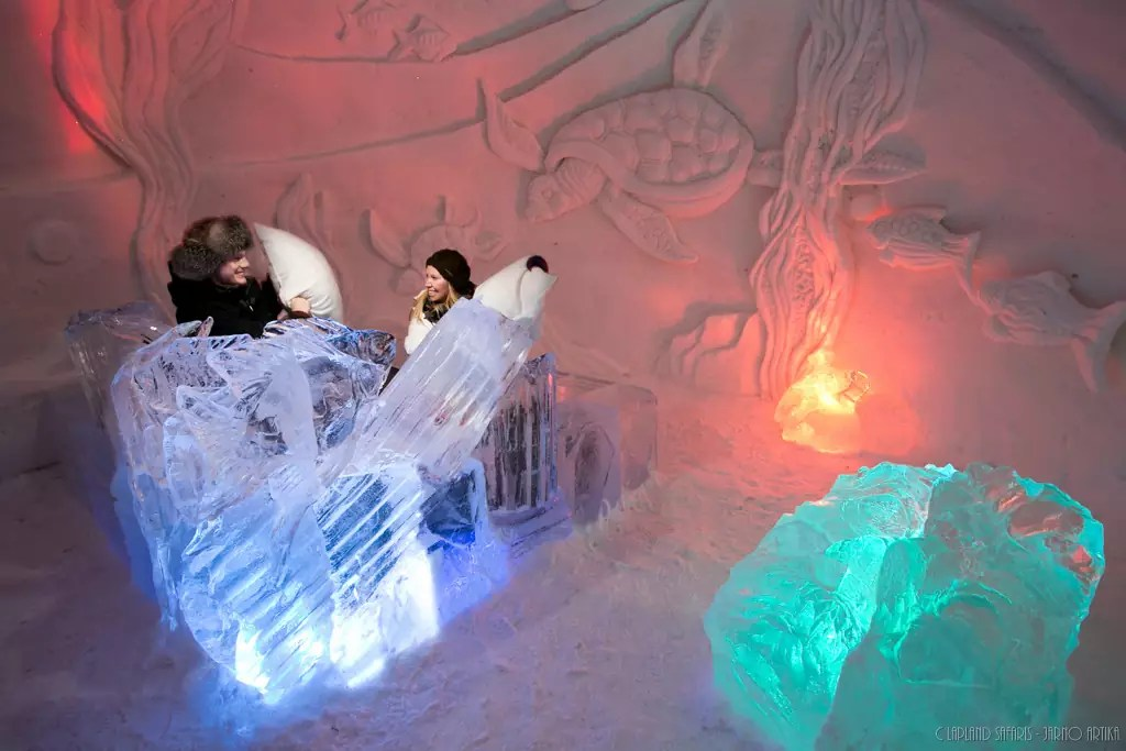 Lainio Snow Village de Yllasjarvi, en Norvège - Photo Courtoisie