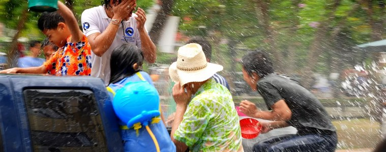 Songkran Thai Festival - Photo free of rights