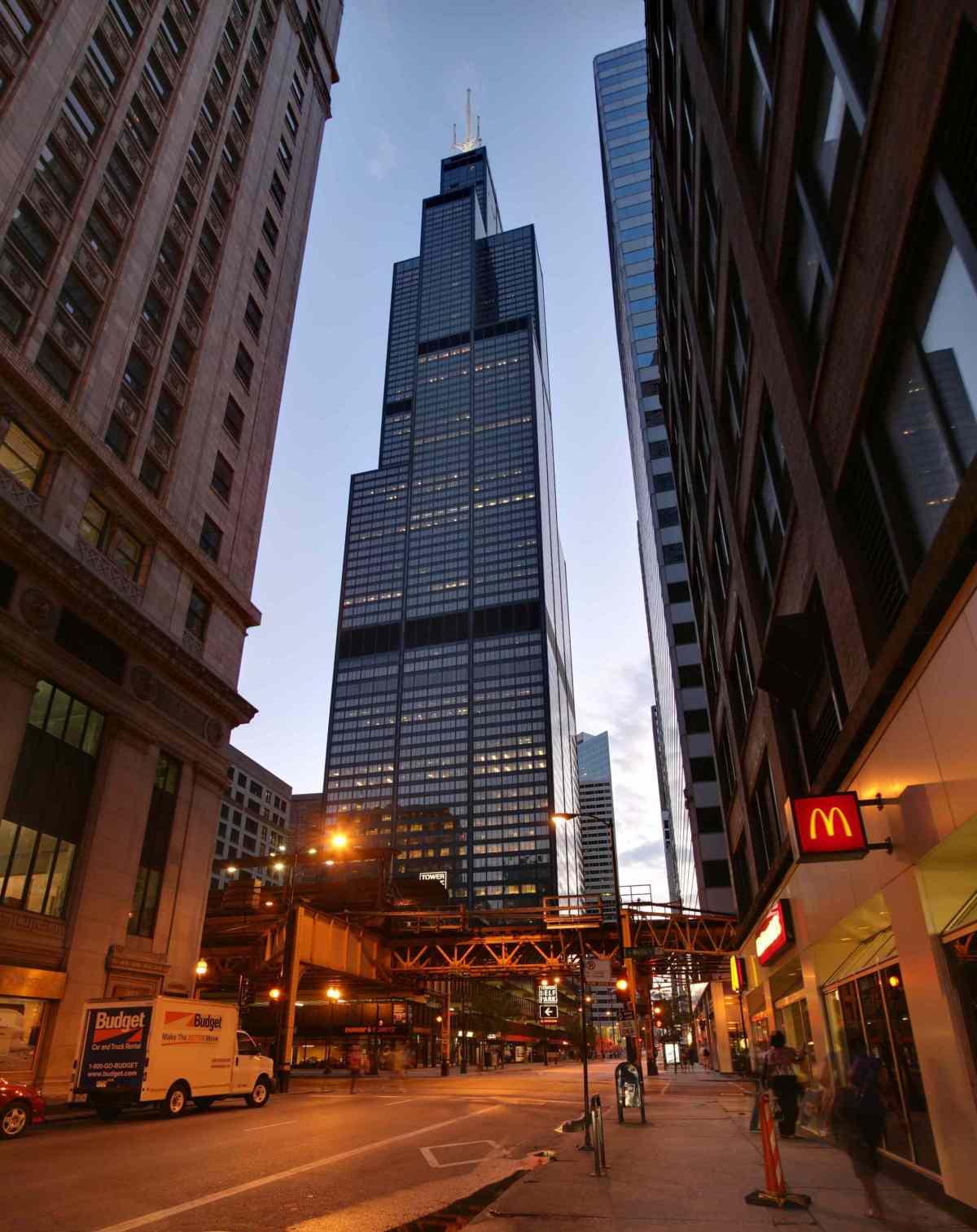 La WillisTower de Chicago - Photo libre de droits