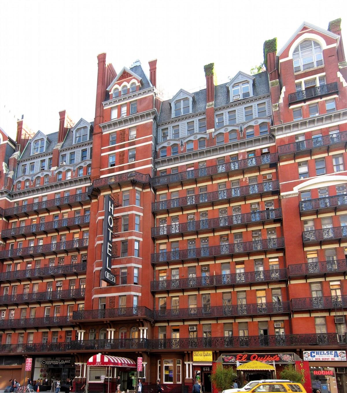 Le célèbre Chelsea Hotel, New York, États-Unis - Photo: Courtoisie