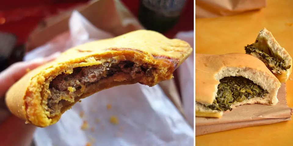 Traditional Jamaican Food - Jamaican Patties