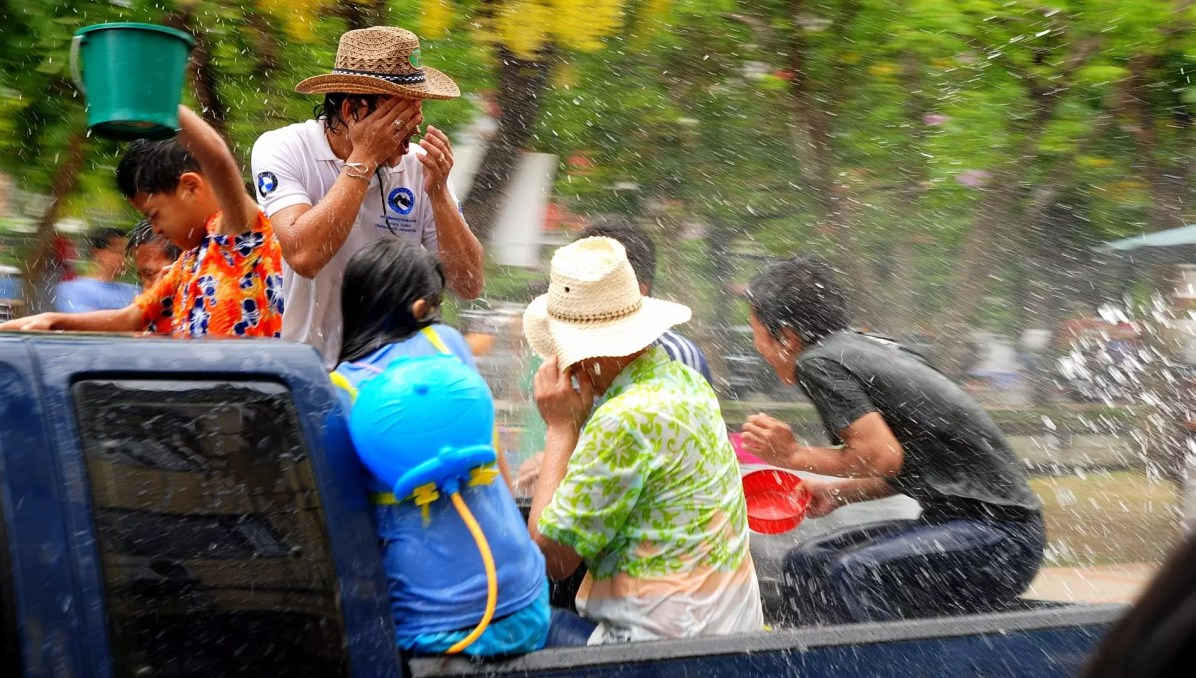 Bangkok Travel Blog - Songkran festival in Thailand where to stay in Bangkok