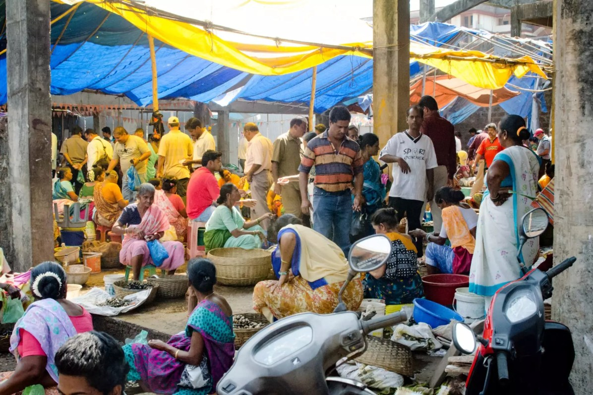 Trip to Goa: The Market