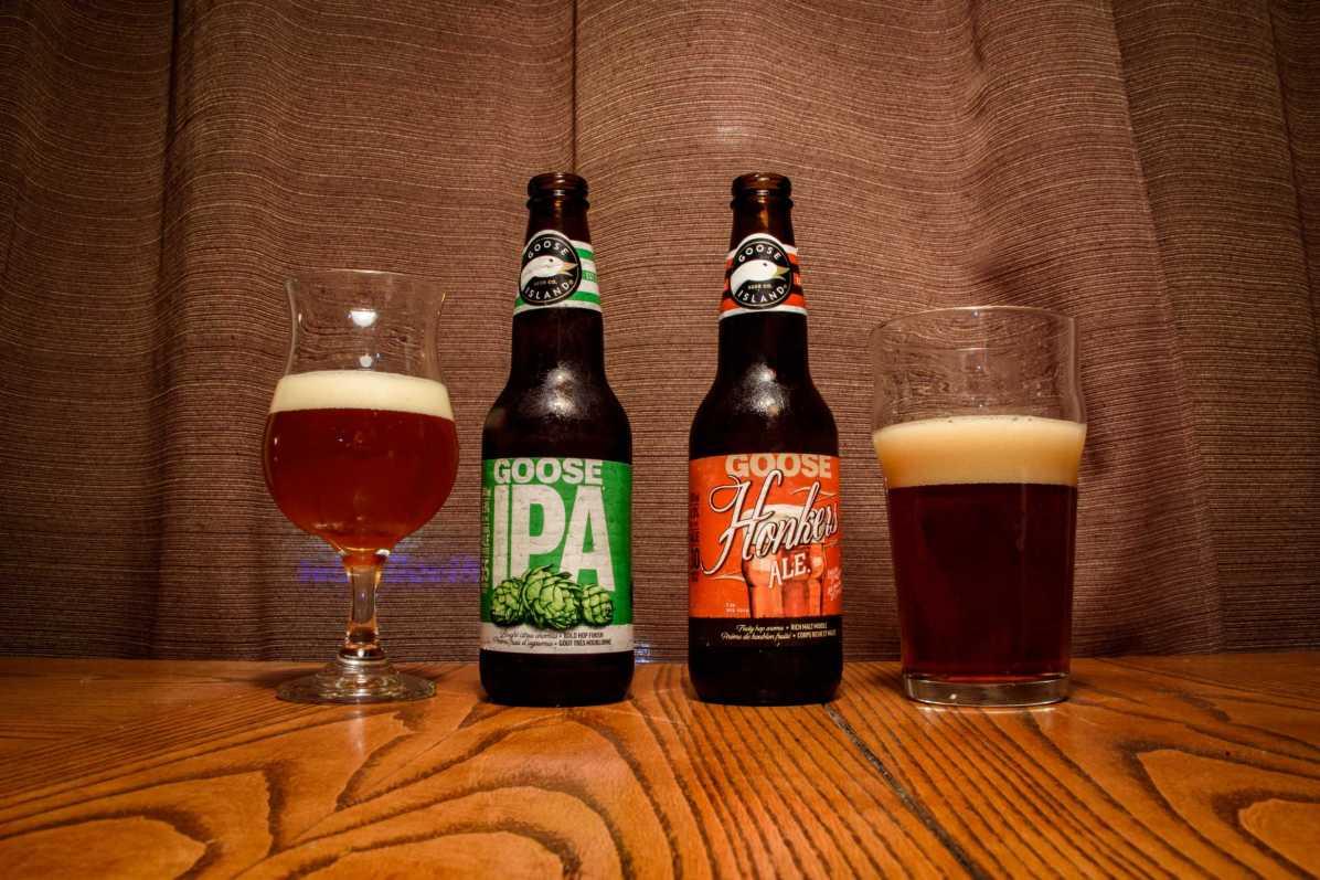 Goose Island Honkers Ale et IPA