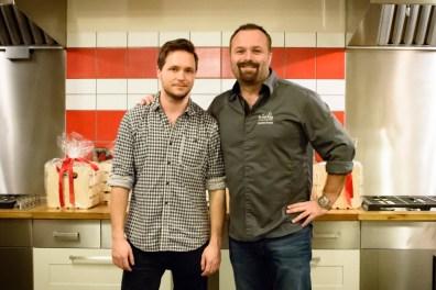 Cédric Lizotte et chef Jonathan Garnier