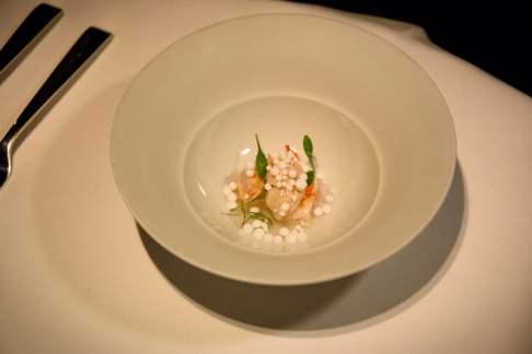 Cinco Paco Perez: thai shrimp