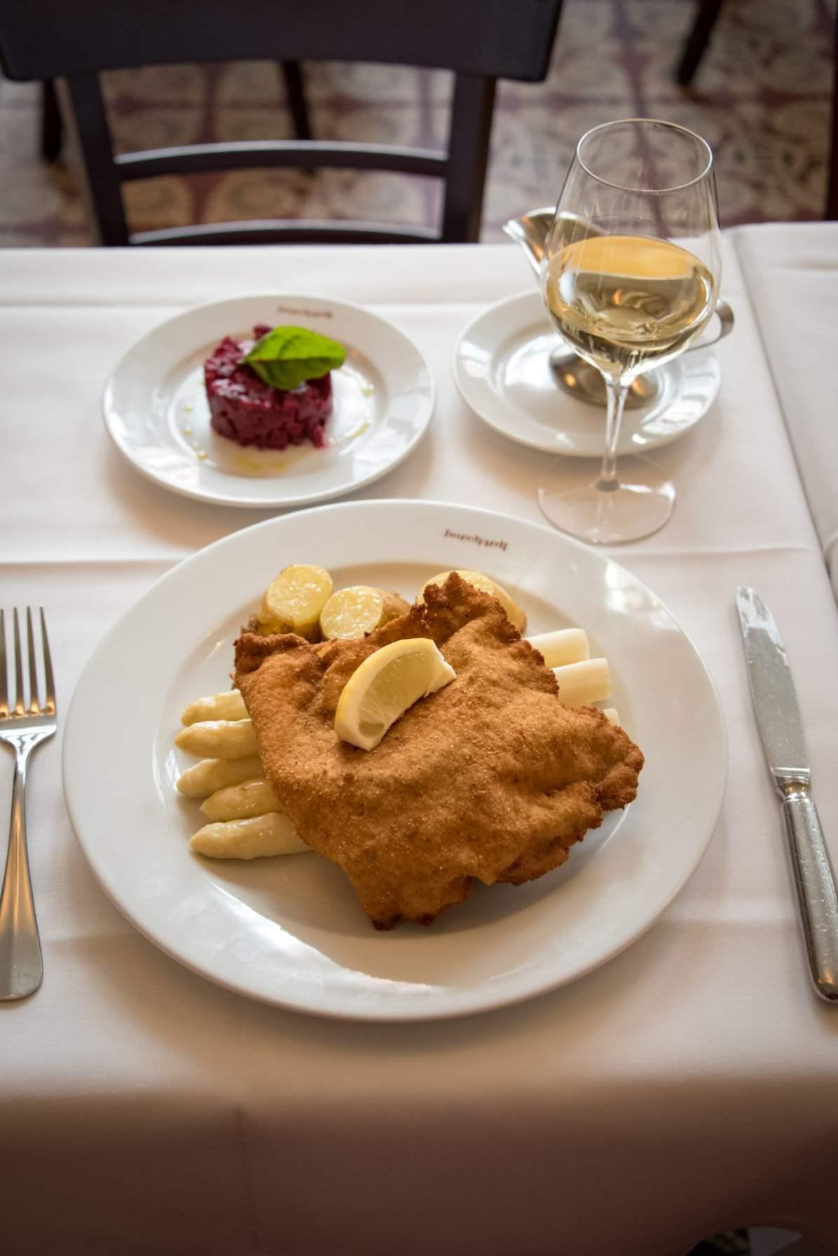 Borchardt, Berlin: Le célèbre schnitzel