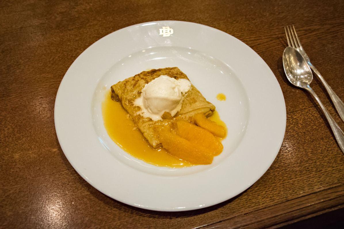 Brasserie Desbrosses, Berlin: Crêpes Suzette