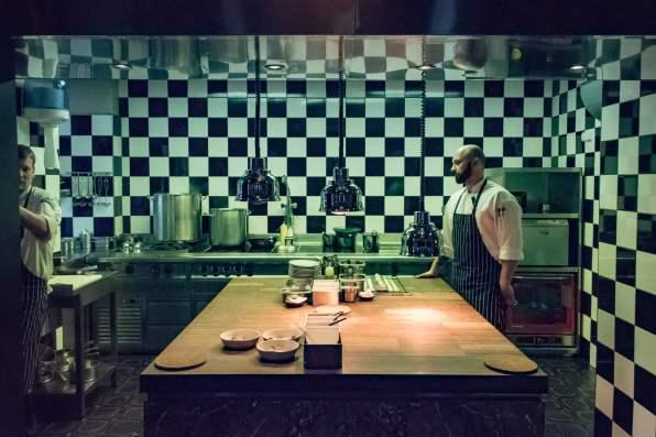 La Dégustation, Prague - La cuisine ouverte