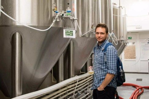 Únětický Pivovar - Cedric Lizotte and... beer!