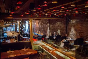 Mangiafoco, restaurant italien dans le Vieux-Montréal