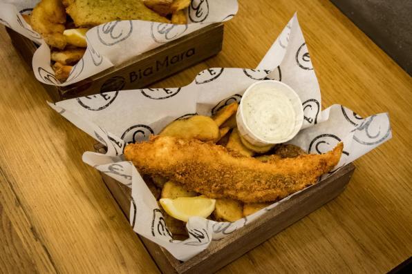 Bia Mara, Bruxelles - Fish & Chips