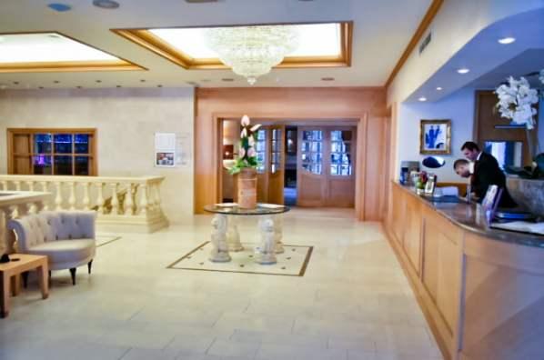Hôtel à Bruxelles - Le Châtelain - Le lobby