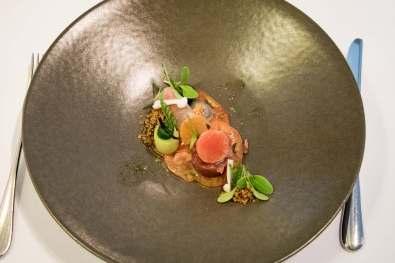 Bistro Margaux, restaurant étoilé, Bruxelles: Trou Normand