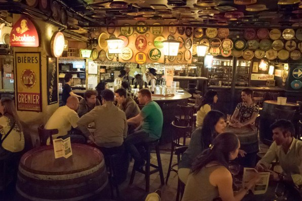 Things to do in Brussels - Delirium Café, a beer bar in Brussels where to stay in Brussels