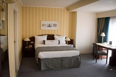 Brussels Travel Blog - Hotel in Brussels - Le Châtelain: One of the rooms Where to stay in Brussels