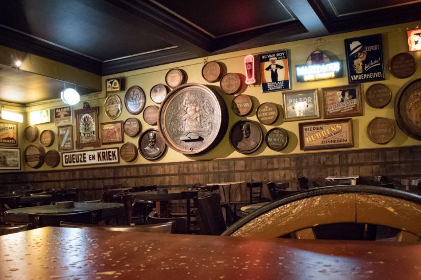 Delirium Café, beer bar in Brussels: The Delirium Hoppy Loft