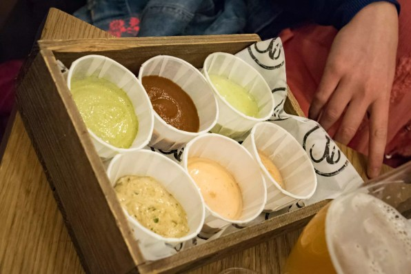 Bia Mara, Brussels - The Sauces