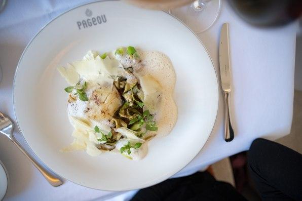 Pageou, restaurant à Munich: Salade chaude