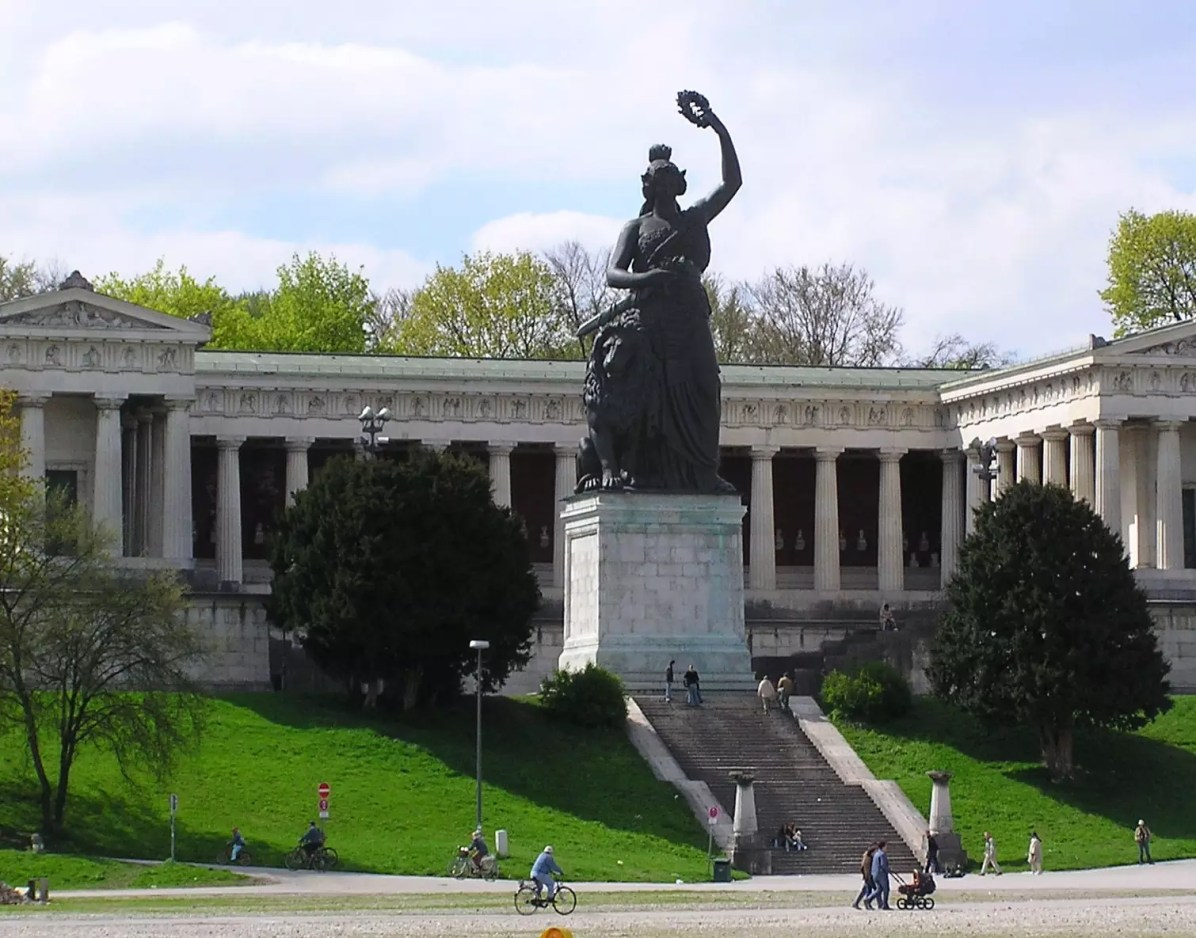 The Bavaria, a statue on the Theresienwiese park - Things to do in Munich, Where to Stay in Munich