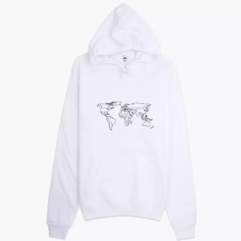 Des hoodies de voyage gourmand - http://foodie.voyage