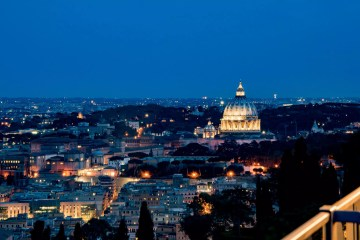 La Pergola, Rome - The view of the Vatican - Rome restaurants