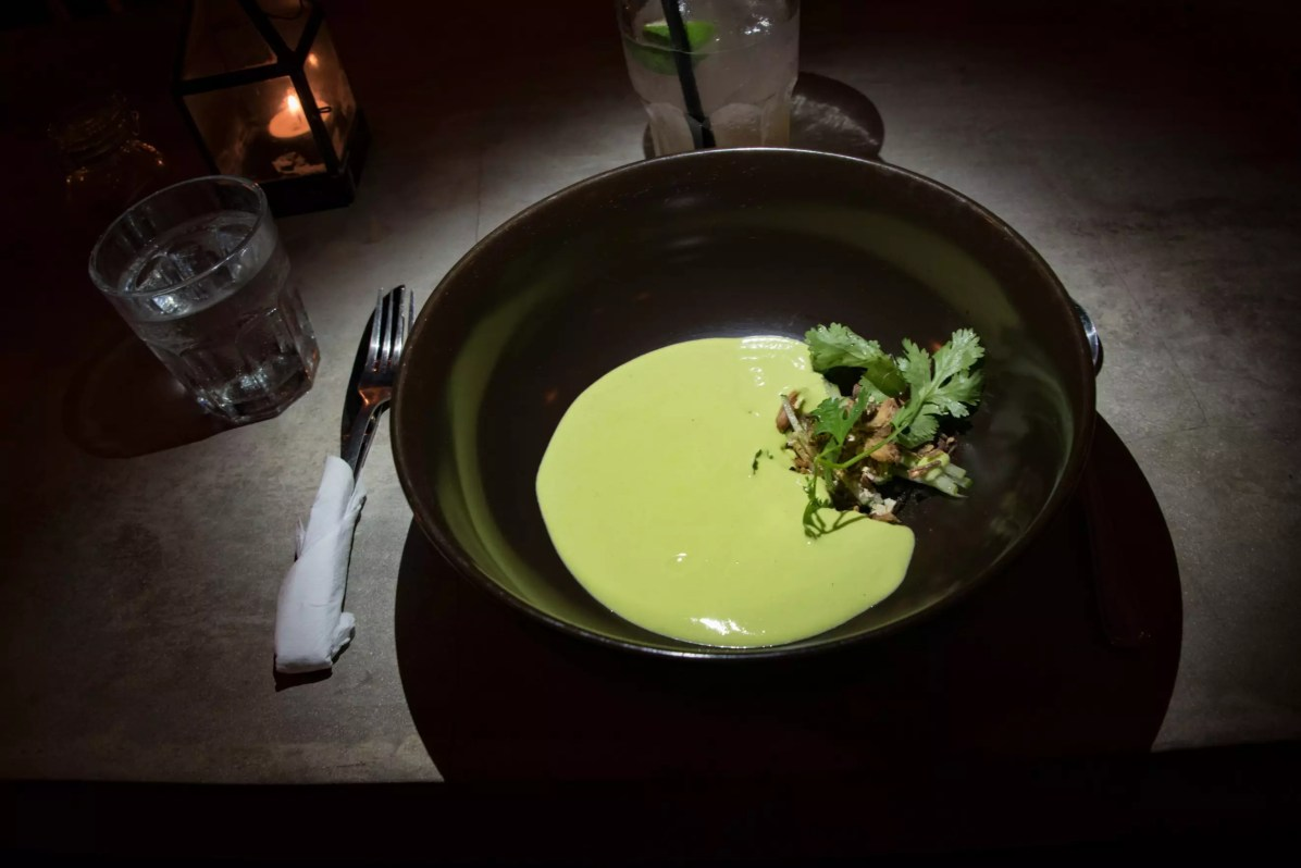 Gypsy, On Top Of All Canggu Restaurants - Pea Gazpacho
