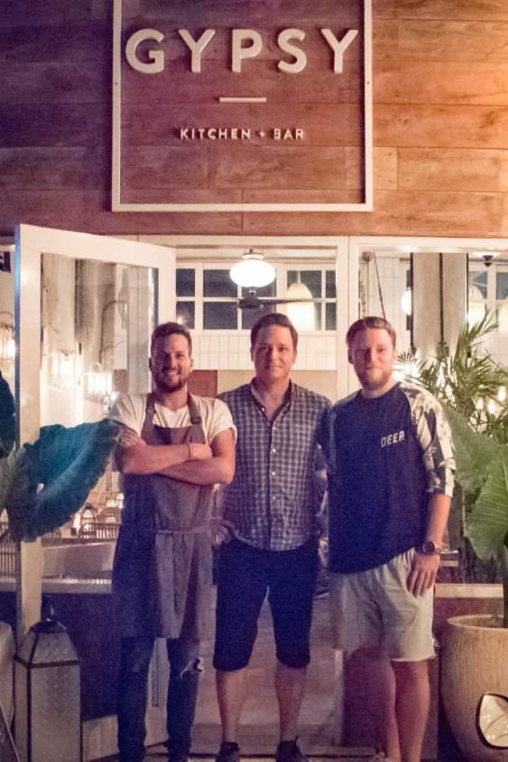 Gypsy, On Top Of All Canggu Restaurants - Chef Robin Filteau-Boucher, Cedric Lizotte, Kevin Latrem