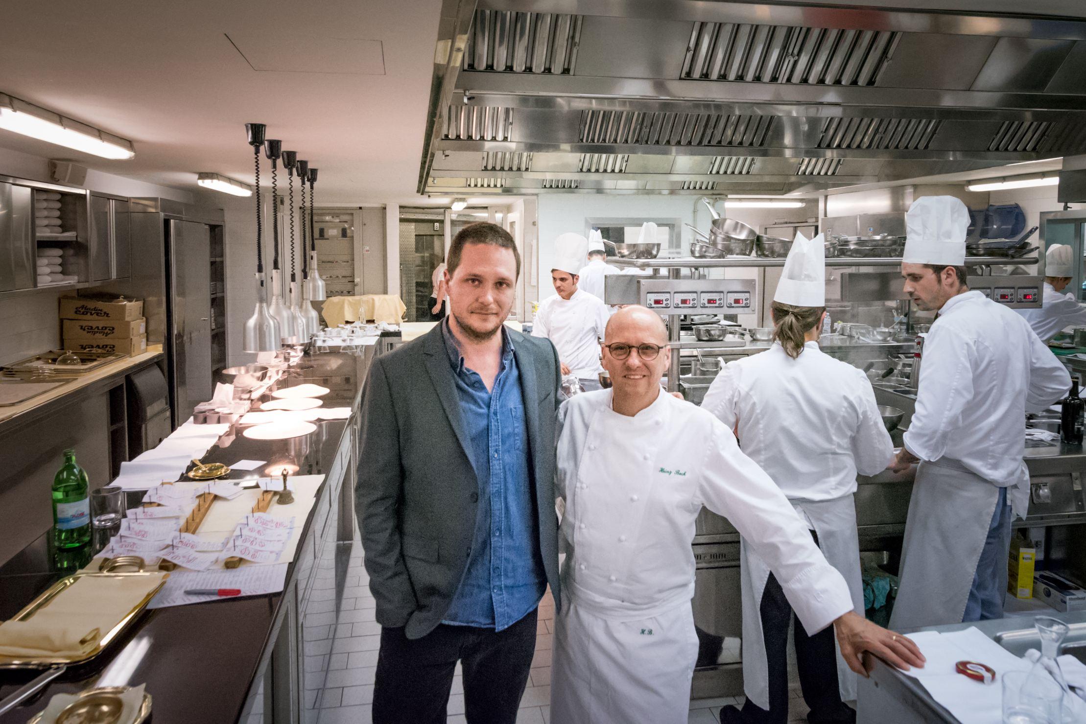 Cédric Lizotte et chef Heinz Beck